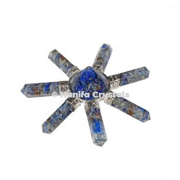 Lapis Lazuli Seven Pencils Healing Energy Generator