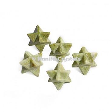 Vesonite Merkaba Stars