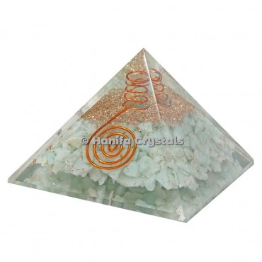 Amazonite Orgonite Pyramids