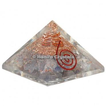 Iolite Orgonite Pyramids