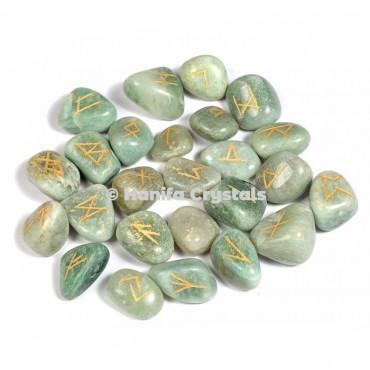 Green Aventurine Rune Sets