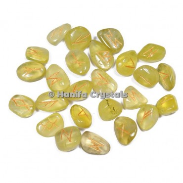 Lemon Citrine Rune Sets