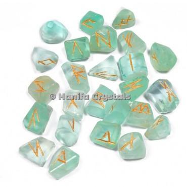 Green Fluorite Rune Sets