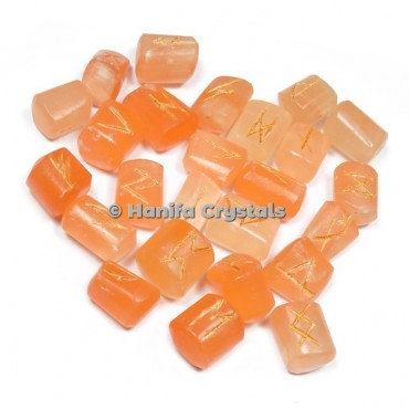 Orange Selenite Rune Sets