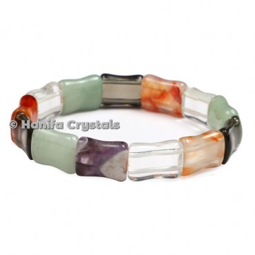Multi Flourite Bracelet