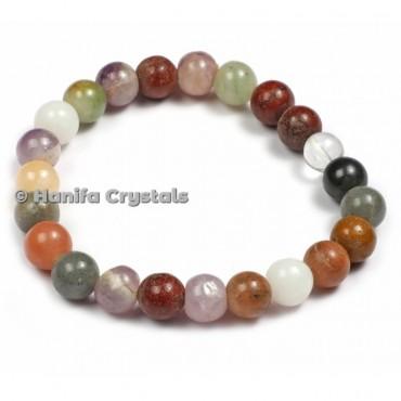 Assorted Stones Bracelet