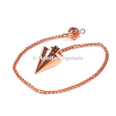 Brass Copper Dowsing Pendulum
