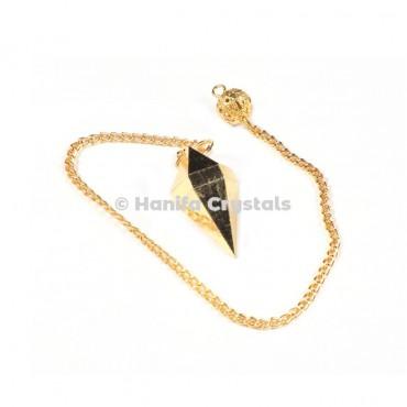 Golden Pyramid Dowsing Pendulum