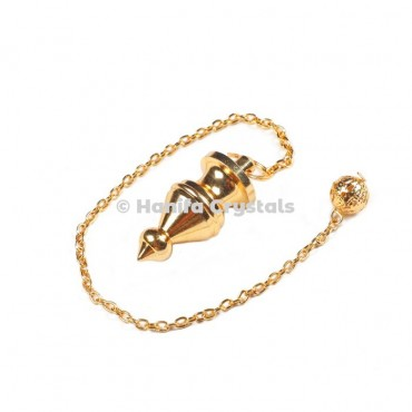 Golden Egyptian Dowsing Pendulum