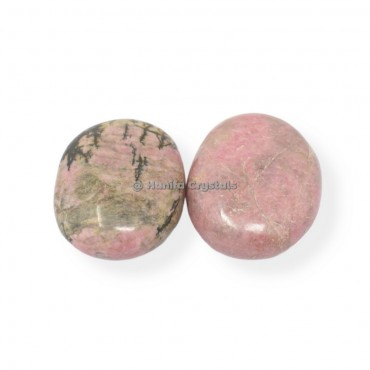 Rhodonite Palm Stones