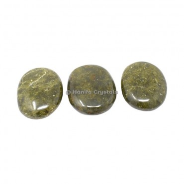 Vesonite Palm Stones