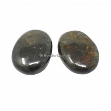 Blood Stone Plam Stones