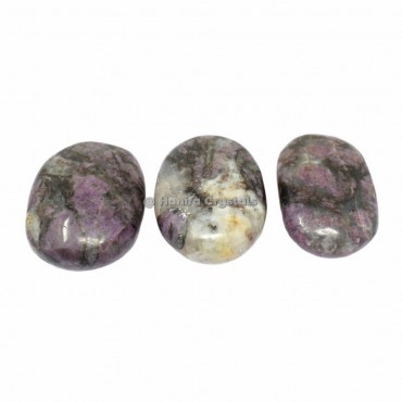 Lepidolite Palm Stones