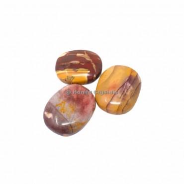 Mookaite Palm Stones