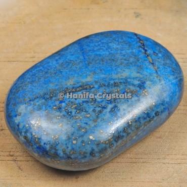 Palm Stone Lapis Lazuli
