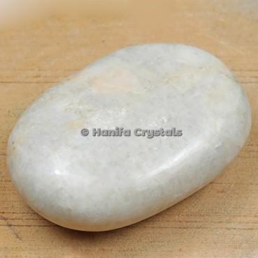 Palm Stone Indian Moonstone