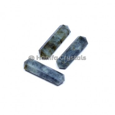 Labradorite 6 Faceted Pencil Point