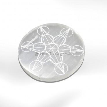 Metatron Accent Selenite Charging Cercle