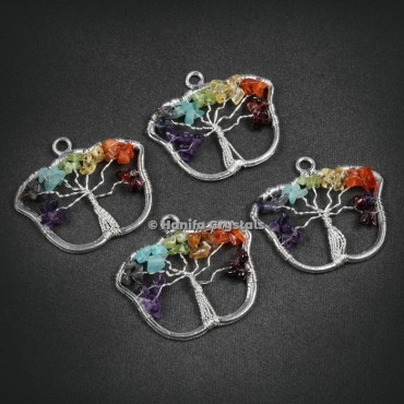 Butterfly Shape Tree Of Life Pendant