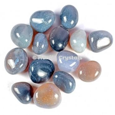 Grey Agate Tumbled Stones
