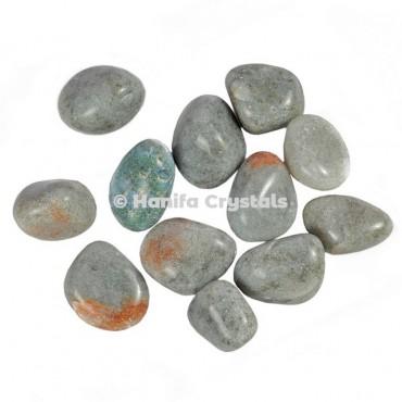 Grey Tumbled Stones