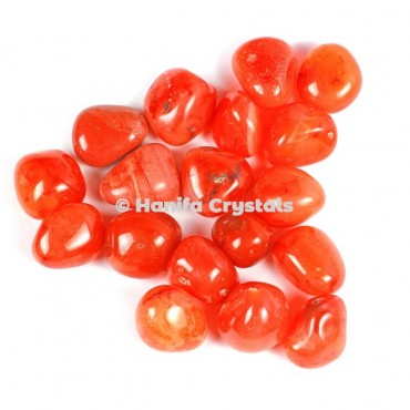Carnelian High Quality Tumbled Stones