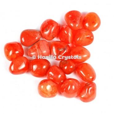 Carnelian High Quality Tumbled Stones