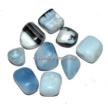 Blue Opal Tumbled