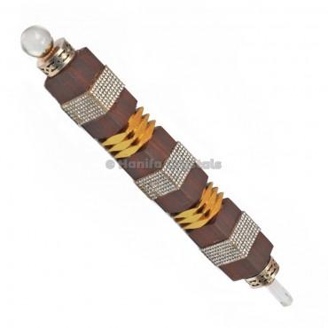 Antique wooden healing wand